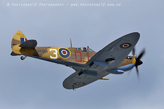 1692 BBMF Spitfire MK356 (photozone72) Tags: dunsfold dunsfoldpark wingswheels airshows aircraft airshow aviation canon canon7dmk2 canon100400f4556lii 7dmk2 raf rafbbmf bbmf warbirds wwii spitfire mk356