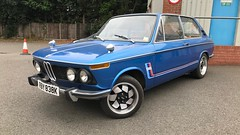 BMW 2000 touring (Sam Tait) Tags: petrol blue car classic rare retro touring tii ti 2002 2000 1972 bmw ats alloy wheel rim sport