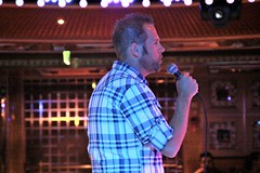 Karaoke Singer (miosoleegrant2) Tags: karaoke party music sing singers male guy man butch gentleman men guys dude studly manly dudes handsome face profile stud masculine people persons whiskered bewhiskered chaetophorous unshaven beardy barbate