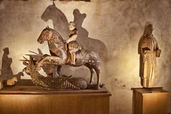 Puuveistos (TeroH67) Tags: keskiaika dragon turku linna hevonen veistos uskonto kristinusko katolilaisuus