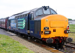 37610 The Malcolm Group EE Class 37 (Keith B Pics) Tags: 37610 d6881 37181 37687 class37 wick inverness themalcolmgroup drs keithbpics dieselloco ee