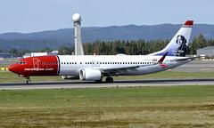 Norwegian LN-BKA, OSL ENGM Gardermoen (Inger Bjørndal Foss) Tags: lnbka norwegian boeing 737 max8 osl engm gardermoen