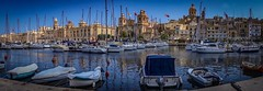 Great Harbour ll, Valetta (Ula P) Tags: boats malta valetta harbour marina oldtown bluesky sony sonyalpha