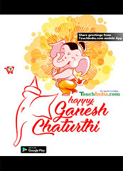 Ganesha Chaturthi (Touchindia.com) Tags: touchindia greetings wishes greetingwishes touchindiagreetings black blue nyc event day new multicolour colours colors red flower nature white green yellow pink orange quotes life love happy smile goodmorning sky sunlight bright hmm outside coffee naturaleza sunshine natur air contrast light ganesha god lordganesha ganeshchaturthi pics picture animal