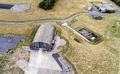 Hanger at Upper Heyford (robmcrorie) Tags: upper heyford oxfordshire raf usaf airport base gulf war air force united states royal bunker f111 phantom 4