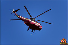 Helicopter returns from fighting fires (Joe Grossinger) Tags: helicopter fighting fires joe grossinger