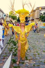 2010-02-06 Desfile de Llamadas en Montevideo (21) - Desfile de Llamadas (Parade der Rufe), Karnevalsumzug in Montevideo, Uruguay (mike.bulter) Tags: karneval carnival umzug parade karnevalsumzug desfiledellamadas frau menschen montevideo people southamerica suedamerika uruguay woman barriosur ury carnaval