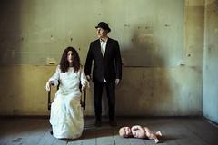 familiar sadness... (Jordan_K) Tags: family portrait surreal sad colors people concept cinematic conceptual classic vintage