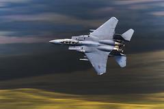 F15 (Mal.Durbin Photography) Tags: f15 maldurbin f15strikeeagle jets usaf raflakenheath aviation canonuk canon7dmkii machloop lfa7 lowflyarea7 lowflyingaircraft lowflying walesuk aircraft