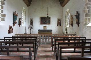Château de Pirou : la chapelle Saint-Laurent