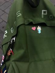 red's backpack (antoni-op) Tags: ferragosto amore chiara sirena turtle corno napoli green redspower
