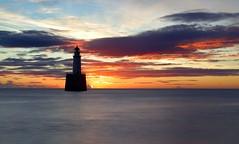 Rattray Head Lighthouse. Sep. 18 #01 (PeskyMesky) Tags: rattrayhead lighthouse sunrise sunset landscape sky cloud water longexposure flickr september 2018 canon canon6d leefilter littlestopper