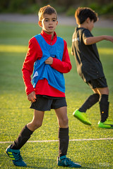20180913 Milo fotbollsträning - 13 september 2018 - 07 (OskarB_65) Tags: barn children football fotboll humans laughter människor portait porträtt skratt smile sommar stockholm training solnakommun stockholmslän sverige se