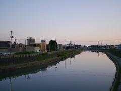 The Tsutsumi River (しまむー) Tags: panasonic lumix dmcgx1 gx1 g 20mm f17 asph trip train yuri highland railway 由利高原鉄道