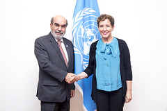 12160v0002 (FAO News) Tags: rome italy fao headquarters bilateralmeeting highlevelvisit directorgeneral
