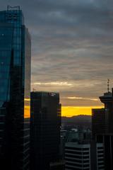 Sunrise at Downtown. (marcella.cavelli) Tags: canada britishcolumbia alberta squamish whistler banff jasper clearwater sky falls tree hike hiking trail trip snow lake wood ab bc
