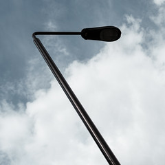 London Street Lamp (photonic.cc) Tags: london geometry streetfurniture sky minimalist serene bridge sony a6500 sal1650 laea3