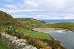 Mountain Views (KristinaRoo) Tags: ireland travel mountain beach ocean water sky