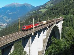Penk (Casper's fotosite) Tags: trein train penk austria öbb 1116 1144 karinthië oostenrijk österreich kärnten tauernbahn güterzug brücke taurus taurusii es64u2