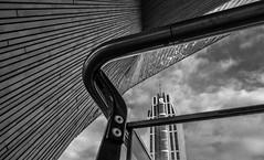 Centraal station Rotterdam (Kijkdan) Tags: architectuur monochrome blackandwhite architecture rotterdam centraalstation lines