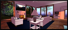 (♥ Second Life) Tags: second life virtual living world reality la galleria malibu beach house contemporary furnishings