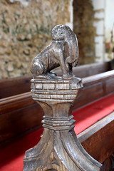 cat with a rat (15th Century) (Simon_K) Tags: lopham norfolk eastanglia church churches south