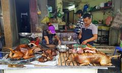 At the restaurant, Hanoi, Vietnam (Frans.Sellies) Tags: 20180809133519 vietnam hanoi restaurant dog