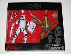 poe dameron and first order riot control stormtrooper star wars the black series 6 inch basic action figures 2 pack target exclusive 2015 hasbro misb a (tjparkside) Tags: poe dameron first order fo 1st riot control stormtrooper star wars black series six 6 inch action figures figure 2 two pk pack 2015 episode 7 vii seven tfa force awakens ace pilot leader resistance xwing x wing fighter stormtroopers army armies blaster blasters pistol pistols rifle rifles baton shield traitor helmet armor tbs misb basic target exclusive hasbro