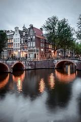 Amsterdam reflection (GabrielGuita) Tags: amsterdam reflection canals light sunset