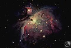 M42 The Orion Nebula 25/01/16* REPROCESS* (Mary McIntyre nee Spicer) Tags: m42 m42orionnebula ritchiechretientelescope altair8 ritchiechretien astrograph astrometrydotnet:id=nova2772422 astrometrydotnet:status=solved
