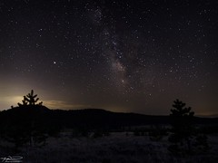 Mount Rose Milky Way (sbadude1) Tags: milkyway astrophotography mars nightscape night landscape nikon d5100 hdr tokina wideangle stars