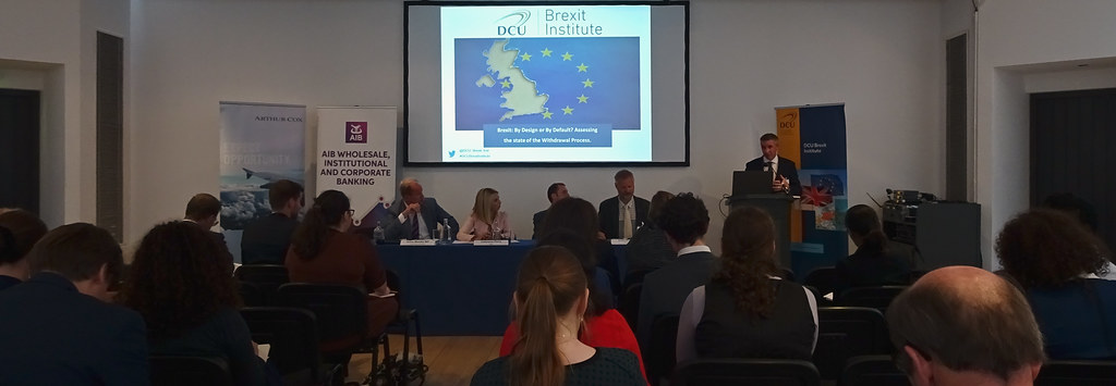 BREXIT BY DESIGN OR BY DEFAULT [6 SEPTEMBER AT THE HELIX]-144005