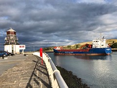 Hagland Captain - Aberdeen Harbour Scotland - 2018 (DanoAberdeen) Tags: danoaberdeen quay quayside winter workboats wasser watercraft wss weather ecosse escocia escotia errv merchantships riverdee tug transport tugboat tugboats trawlers uk iskoçya iphone imo offshore oilships oilrigs offshoreships metal maritime merchantnavy bluesky bonnyscotland boats boat northeast northseasupplyships northsea nikond750 vessels vessel candid cargoships szkocja abz lifeatsea skottland harbour haulage grampian geotagged footdee fittie dock amateur autumn aberdeenscotland aberdeenharbour abdn haglandcaptain