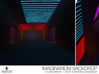 NEW! Imaginarium Backdrop @ EQUAL 10