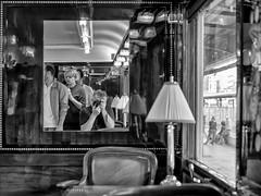 Me, myself and I (Daniel_Hache) Tags: garedelyon journeedupatrimoine orientexpress autoportrait