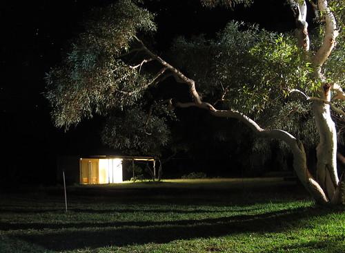 Caravan park ablutions hut