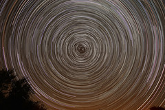 Star Trails (saundersfay) Tags: startrails constellations polaris trails stars wizard milkyway ic1396elephanttrunknebula m31greatandromedagalaxy comet21ppassingm35andngc2158 galaxy nebulae