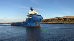 Brage Supplier - Aberdeen Harbour Scotland - 21/9/18 (DanoAberdeen) Tags: psv mokster bragesupplier danoaberdeen simonmokster mokstershipping aberdeenscotland aberdeen 2018 oilships pocraquay supplyships seaport iphonevideo mpeg video amateur candid tug abz abdn uk ship boat vessel harbour seafarers maritime sailor tugs boats vessels ships gb scotland metal offshore oilrigs torry northeast clouds autumn summer winter spring workboats water