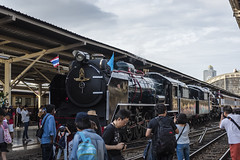 Steam locomotive in Thailand (Flutechill) Tags: bangkok bangkokrailway bangkokrailwaystation locomotive hualamphong stream traveldestinations steamtrain people editorial train transportation crowd men urbanscene passenger commuter station modeoftransport groupofpeople citylife cultures travel peopletraveling publictransportation subwaystation rushhour railroadstationplatform railroadtrack tourist old history tourism oldfashioned famousplace