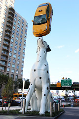"""Spot"" by Donald Lipski (ShellyS) Tags: sculptures art hospitals nyc newyorkcity manhattan eastside firstavenue 34thstreet"