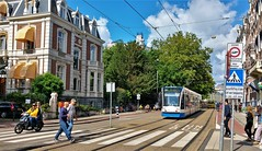 Langs de Lijn: Over de Schans (Peter ( phonepics only) Eijkman) Tags: amsterdam city combino gvb tram transport trams tramtracks trolley rail rails streetcars strassenbahn nederland netherlands noordholland nederlandse holland