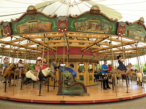 Chicago, Lincoln Park Zoo, Carousel