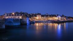 Heure Bleue sur SAINT GOUSTAN (f.ray35) Tags: 56 bretagne breizh bretagnetourisme morbihan blue hour cityscape france
