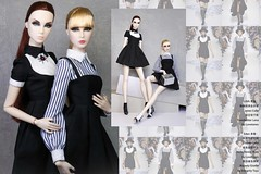 Double Act (Fashion Royalty/NU.Face Poetic Beauty Eden/Lilith Blair W Club Exclusive) (wenbosu) Tags: barbie barbiedoll fashion fashiondoll fashionroyalty parker nuface royalty poppyparker wclub dollcollector doll frdoll integrity integritytoys lovetones fr fr2 nf2 it poppy toys pp
