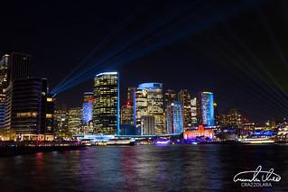 Sydney Skyline - Vivid Sydney