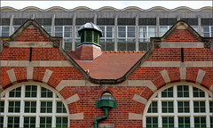 Former swimming baths, Cadbury's, Bournville, Birmingham (alanhitchcock49) Tags: details bournville birmingham cadburys chocolate factory former swimming baths