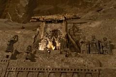 kerststal (JANKUIT) Tags: polen krakau kraków wieliczkazoutmijn wieliczka kerststal zoutmijn ondergronds zout labyrint