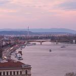 Early evening activities at Danube River thumbnail