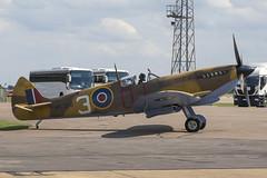 Desert Spitfire (KRIV Photos) Tags: bbmf lfixe mk356 raf rafconningsby spitfire supermarine uk