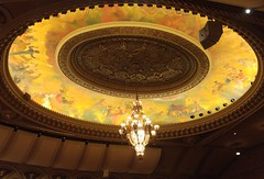 Vancouver Orpheum Ceiling Van18e07 LG (CanadaGood) Tags: canada bc britishcolumbia vancouver downtown people person concert music symphony orpheumtheatre theatre architecture canadagood 2018 thisdecade color colour cameraphone